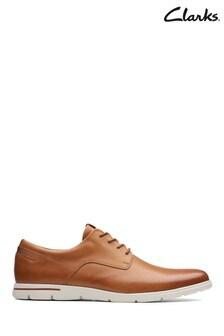Clarks Tan Vennor Walk Shoe