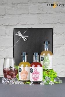 Le Bon Vin Pickers Delight Cocktail Triple Taster Set