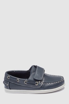 Leather Boat Shoes (Younger)