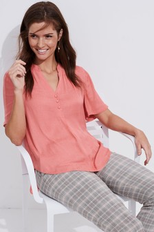 eed87f9171b Womens Pink Tops | Ladies Pink Going Out Tops | Next UK