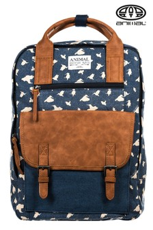 Animal Navy Print Navigator 16Ltr Backpack