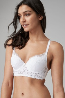 Phoebe Light Pad Lace Balcony Bra
