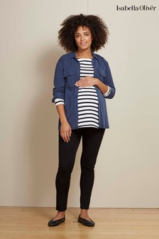 Isabella Oliver Black The Under The Bump Maternity Tregging