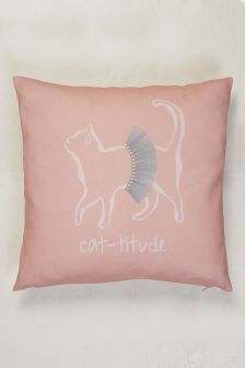 Sassy Cat-titude Cushion