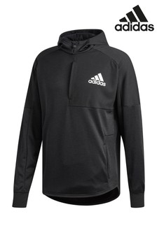 adidas Black Pull Over Hoody