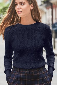 Pointelle Jumper