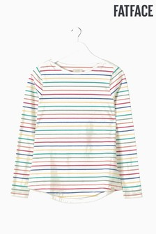 FatFace Natural Organic Cotton Multi Breton Tee