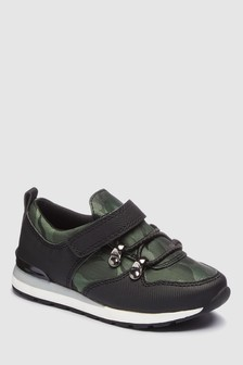 Camo Hiker Trainers (Younger)