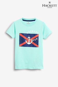 Hackett Blue Anchor X Short Sleeve Tee