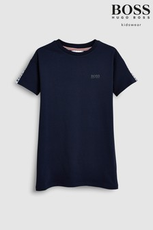 BOSS Navy Tee Dress