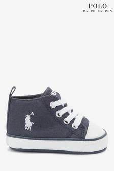 Ralph Lauren Navy Hampton Shoes