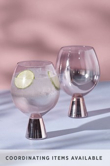 Aubrie Set of 2 Gin Glasses