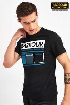 Barbour® International Black Squares T-Shirt