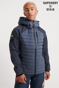 Superdry Ski Navy Snow Padded Coat