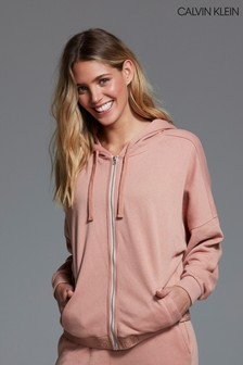 Calvin Klein Pink Sparkle Hoody