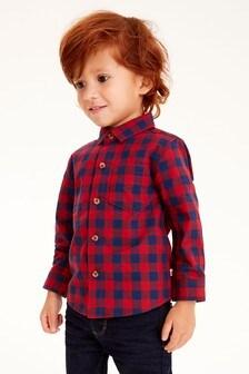 قميص كاروه (3 شهور -7 سنوات)