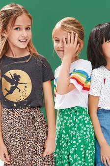 Disney™ Tinkerbell Short Sleeve T-Shirt (3-16yrs)