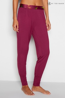 B by Ted Baker Red Serenity Jersey Cuff Pant