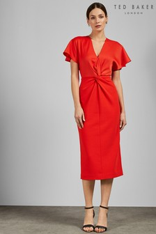 28240c9ca252 Buy Women s dresses Orange Orange Dresses Tedbaker Tedbaker from the ...