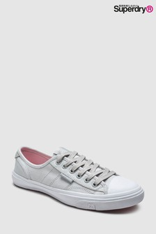 Superdry Grey Low Pro Sneakers