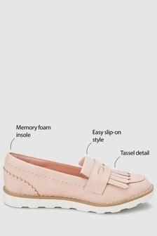 Chunky Fringe Loafers (Older)