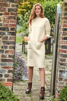 Pocket Jumper Dress