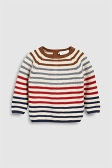 Suéter de punto con diseño de rayas (0 meses-2 años)