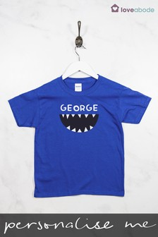 Personalised Shark T-Shirt by Loveabode