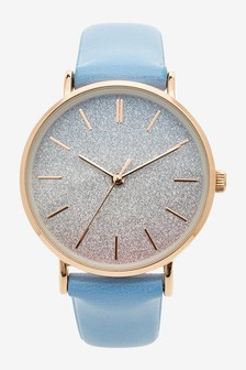 Shimmer Rainbow Dial Watch