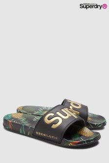 bb2288dacc58 Superdry Multicoloured Tropical Slider