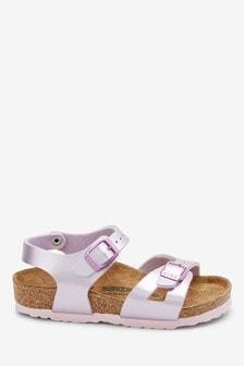 Birkenstock® Lilac Rio Sandals