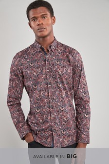 Elegantes Hemd mit Paisley-Muster