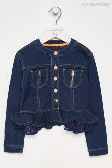 Angel & Rocket Blue Denim Jacket