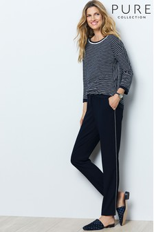 60624666b9d8 Buy Women s trousers Sidestripe Sidestripe Trousers from the Next UK ...