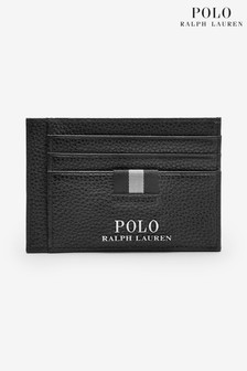 Polo Ralph Lauren Leather Card Holder Money Clip