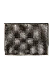 Coast Black Mabel Sparkle Pouch Bag