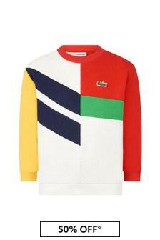 Lacoste Kids Boys Multi Cotton Sweater
