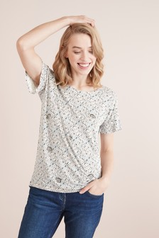 fluted sleeve tops t shirts trumpet sleeves t shirts next uk