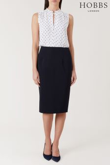 Hobbs Blue Caitlyn Skirt