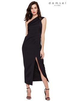 Damsel In A Dress Black Samira Maxi Dress