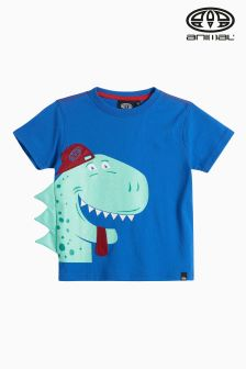 Animal Blue Dood Dino T-Shirt