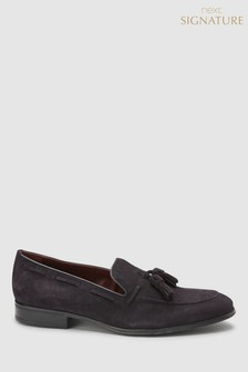 Signature Suede Tassel Loafer