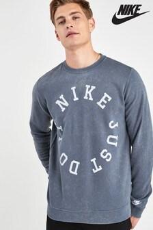 Nike Sportswear Blue Wash JDI Crew