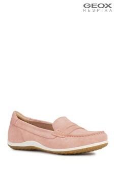 Geox Pink D Vega Moc Shoe