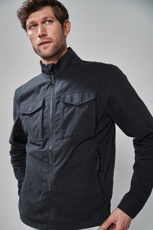 1e577853fc9 Lightweight Funnel Neck Jacket