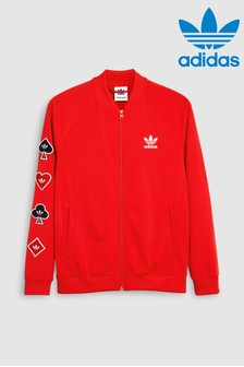 adidas Originals Red Valentines Track Top