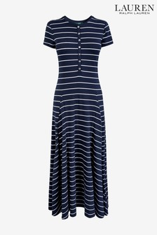 Lauren Ralph Lauren Navy Modal Dress
