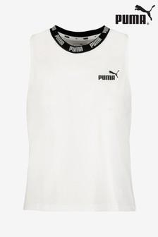 Puma® White Logo Tank