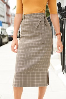 Tailored Slip Skirt