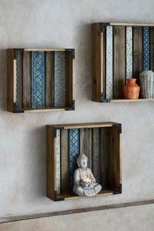 Ethnic Wooden Shelves
